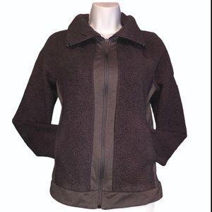 The North Face Extra Small Jacket Sherpa Fleece Full Zip Pockets Winter Fall